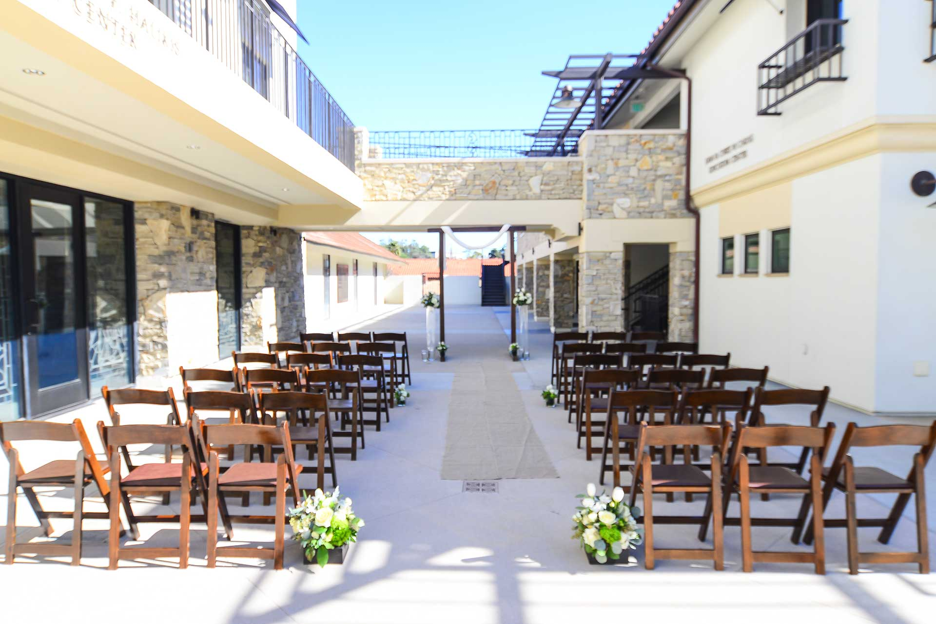 Redondo Beach Outdoor Wedding Venue